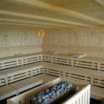 Elementy do budowy sauny