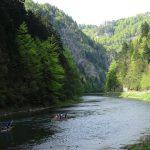 Spływ Dunajcem w Pieninach